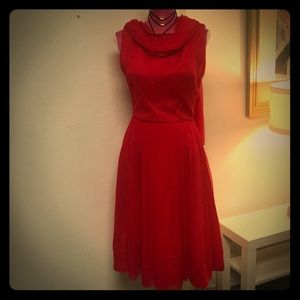 Union Label Vintage red dress